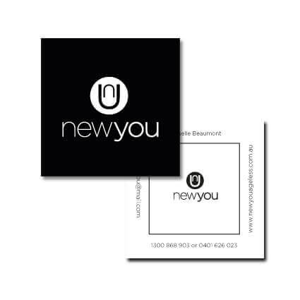 New You Business Card