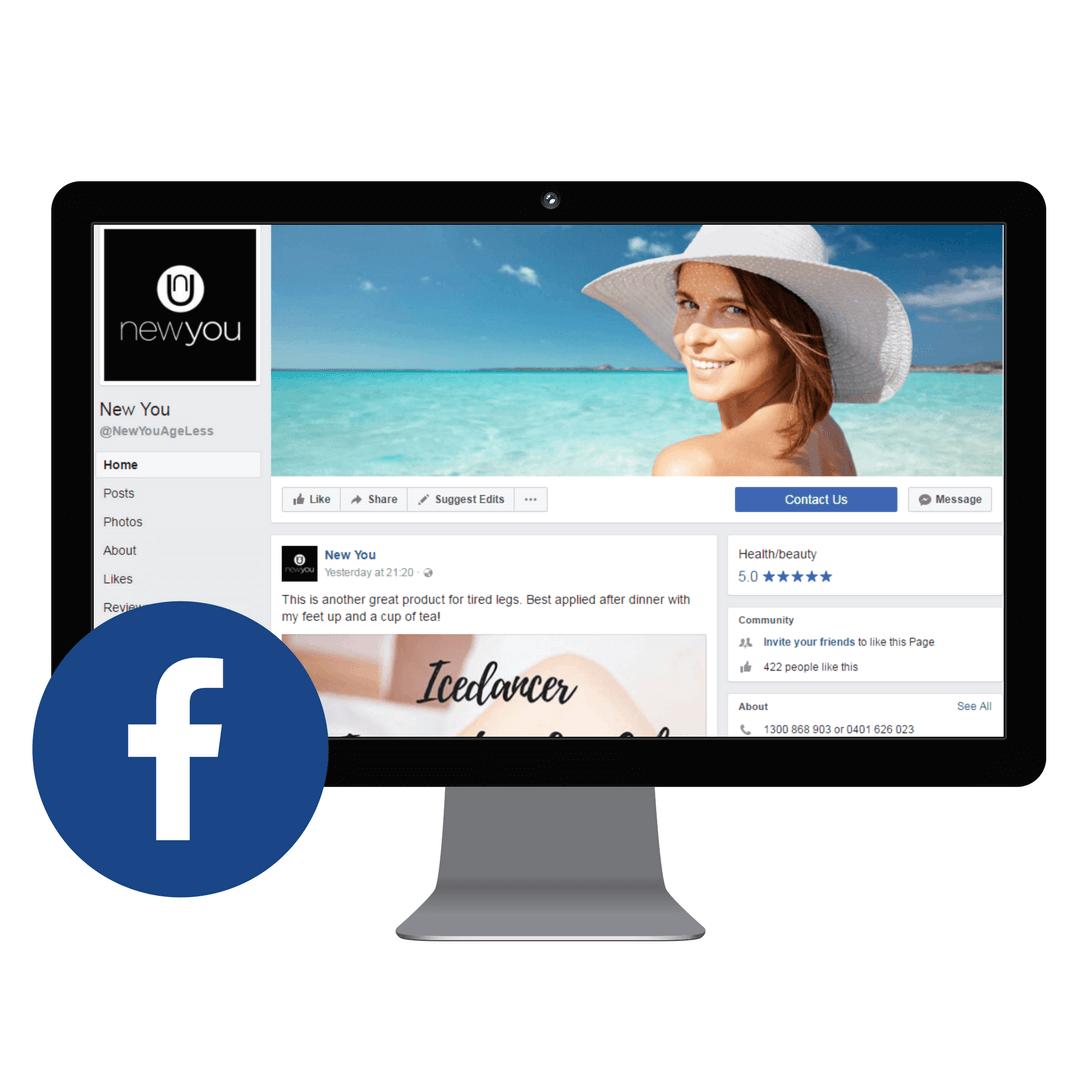New You Facebook Desktop