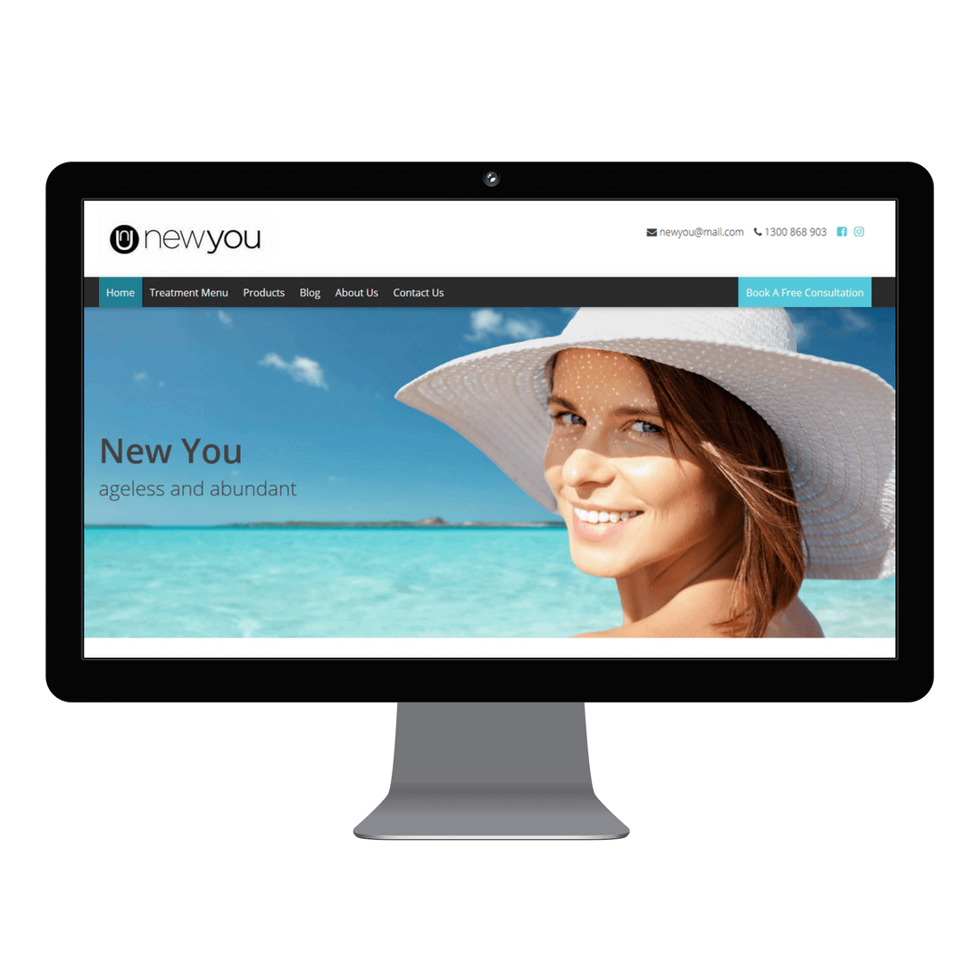 New You Website