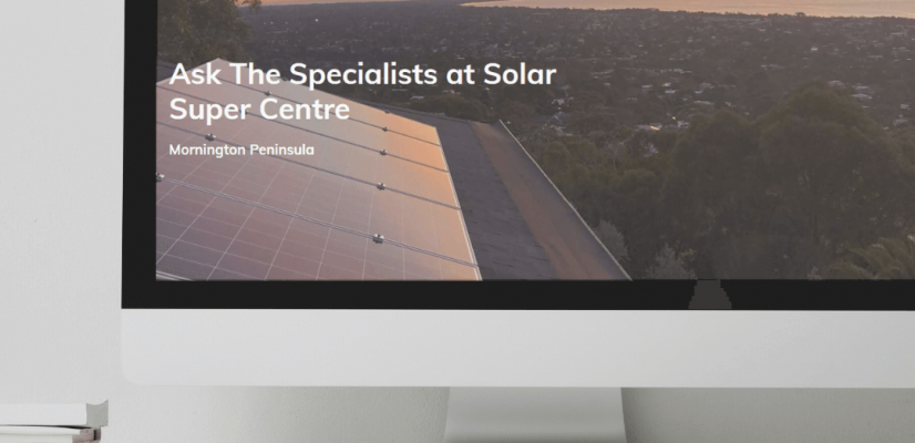 Solar Website Design